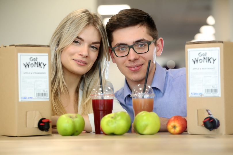The young entrepreneurs who are building a drinks empire out of wonky fruit!